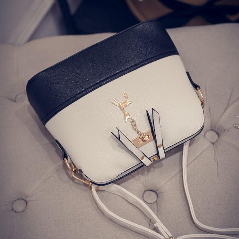 mini flap bolsa com veados Fashion Women Flap Bag : Cell Phone Pocket Shoulder Bag