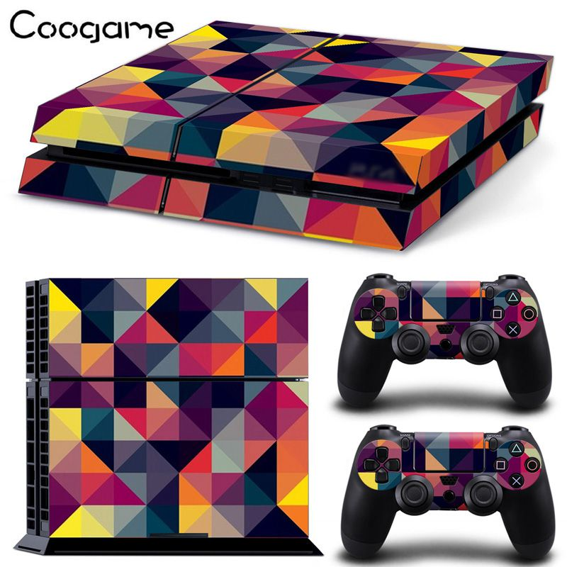 8 Styles Personas Mix Color Skin Sticker For PS 4 Console For Playstation4 Wireless Controller Decal For Sony Control Sticker