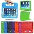 Crianças bonito dos desenhos animados de eva smart for apple ipad mini4 case crianças safe soft para ipad mini 4 protetor tampa alça + stylus + filme