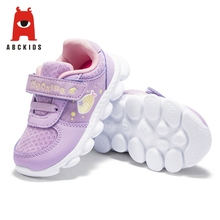 ABC KIDS Spring Baby Girl Breathable Anti-Slip Cartoon Animal Casual Walking Shoes Sneakers Soft Soled