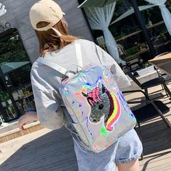 Infantil lasera szkoła torby holograficzny torba plecak szkolny dla dziewczynek plecak szkolny torba dla dzieci plecaki dla dzieci 6