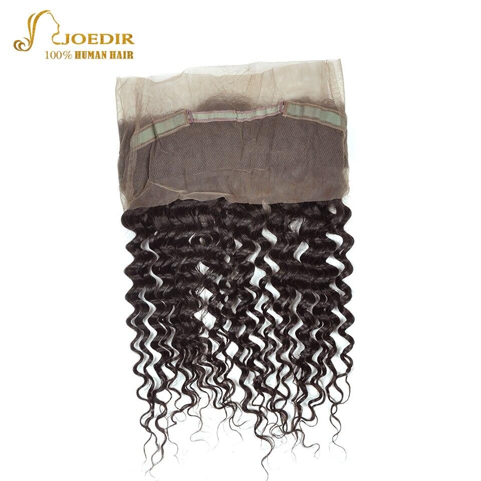 JOEDIR Hair Deep Wave 3st Human Hair Bundles With Closure 360 - Barbershop - Foto 2