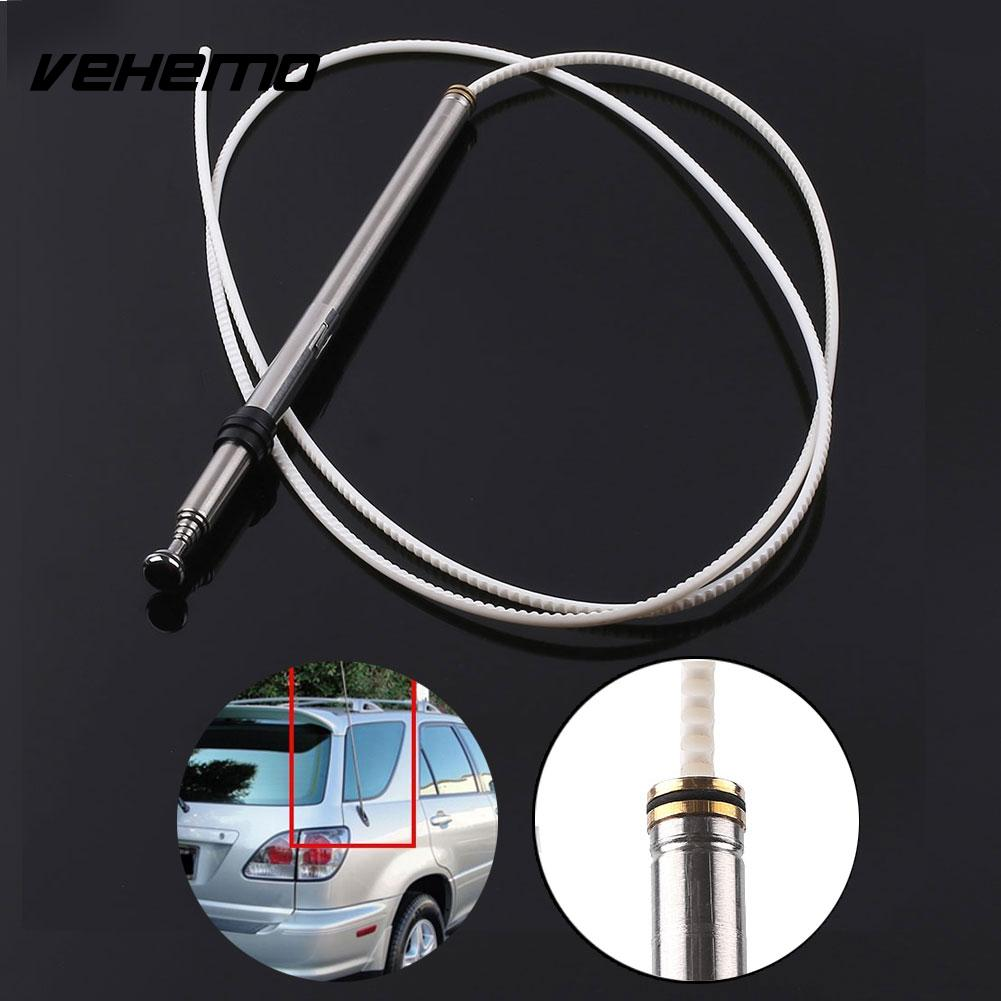 hight resolution of vehemo telescopic car stying radio antenna pole rod aerial mast replacement for toyota lexus ls400 gs300 accessories