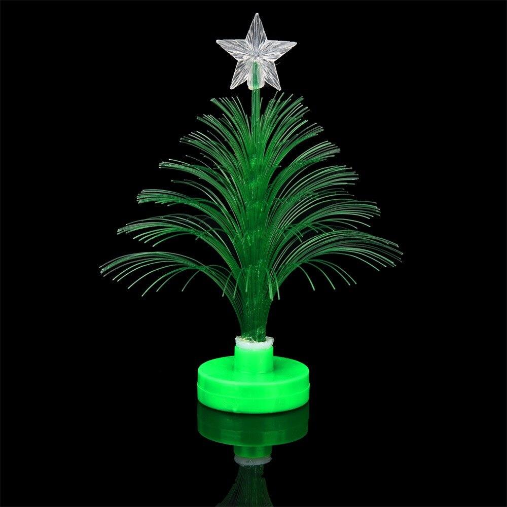 Decorazioni Natalizie Low Cost us $0.71 24% off|christmas tree led changing light mini xmas plastic  decorazioni natalizie home table party decor charm led christmas  tree|pendant &