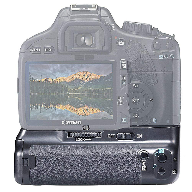 Vertical Battery Grip handle Grip BG-E8 for Canon 550D 600D 650D <font><b>700D</b></font> T5i T4i T3i T2i DSLR Cameras As MK-550D image