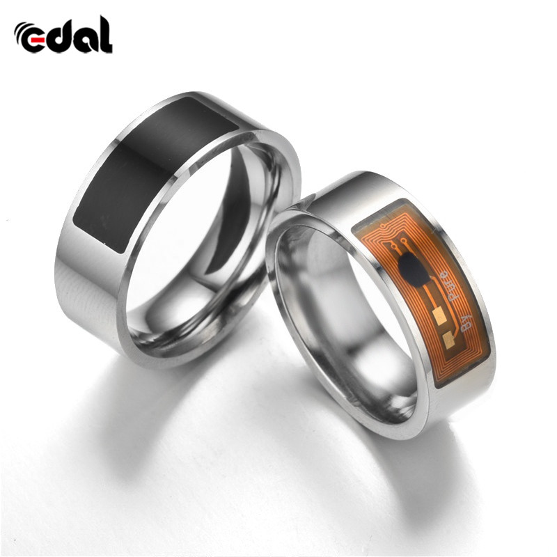 Fashion New Smart Rings Open Smart Lock Magic Wear Ring Black Finger Digital Ring For Android Phone With Function Hot