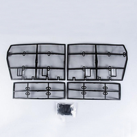 New accessories For Toyota Land Cruiser Prado FJ 150 2018 Grille Insect Screening Mesh Front Grille Net 4PCS