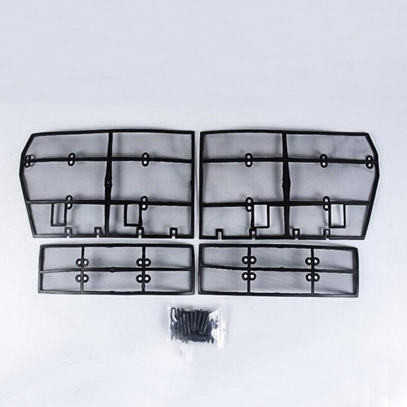 Nouveaux accessoires pour Toyota Land Cruiser Prado FJ 150 2018 Grille insecte criblage maille Grille avant filet 4 pièces