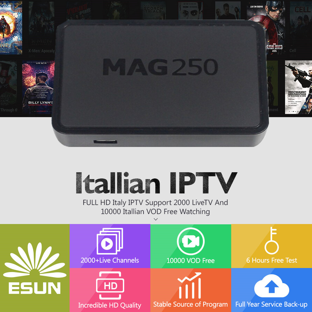 ItalyTV MAG250 IPTV Box Linux System With 1 year Europe/French/Spain/Germany/UK/USA/Portugal/Italy/Adult channel set top boxItalyTV MAG250 IPTV Box Linux System With 1 year Europe/French/Spain/Germany/UK/USA/Portugal/Italy/Adult channel set top box