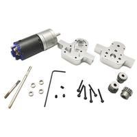 Metal Transfer Gear Box With Motor For Wpl Jjrc 4Wd 6Wd Rc Crawler Car Accessories