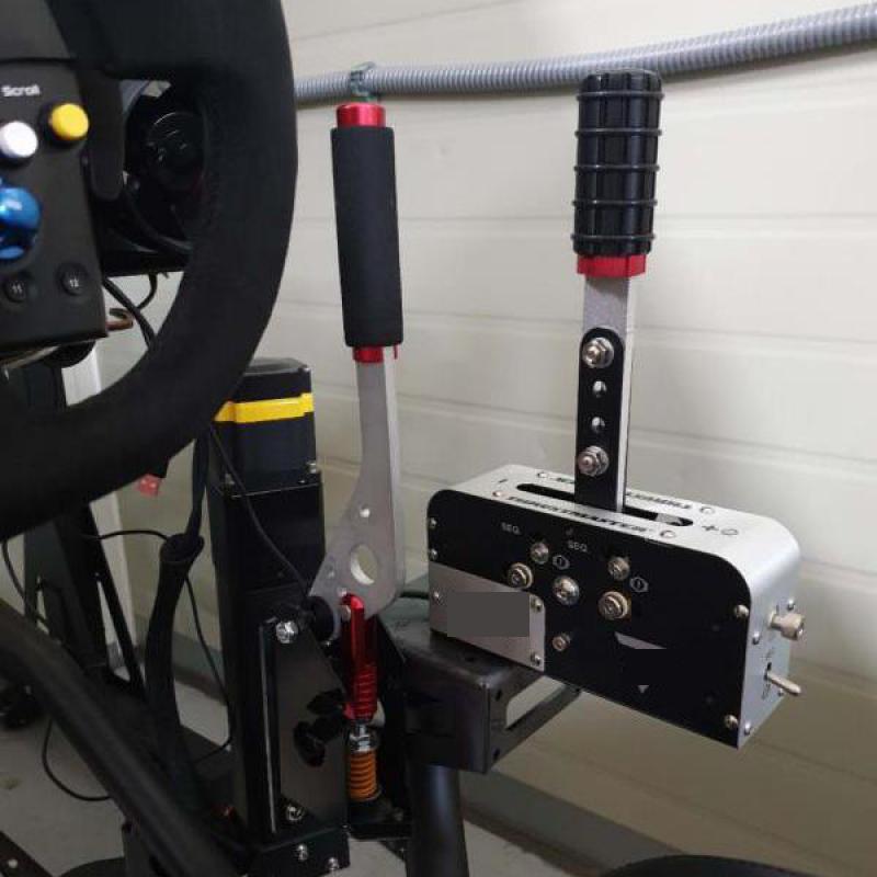 Pince de frein à main Usb Windows Pc pour jeu de course Sim pour Logitech G25 G27 G29 T500 T300 Fanatecosw pour Lfs Dirt Rally