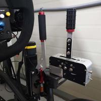 Usb braçadeira de freio de mão windows para sim jogo de corrida para logitech g25 g27 g29 t500 t300 fanatecosw para lfs sujeira rally Freio de mão Automóveis e motos -