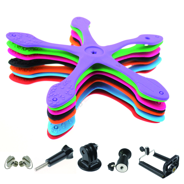 Gekkopod Mini Tripod Mount Portable Flexible Stand/Holder Sports Camera Accessories