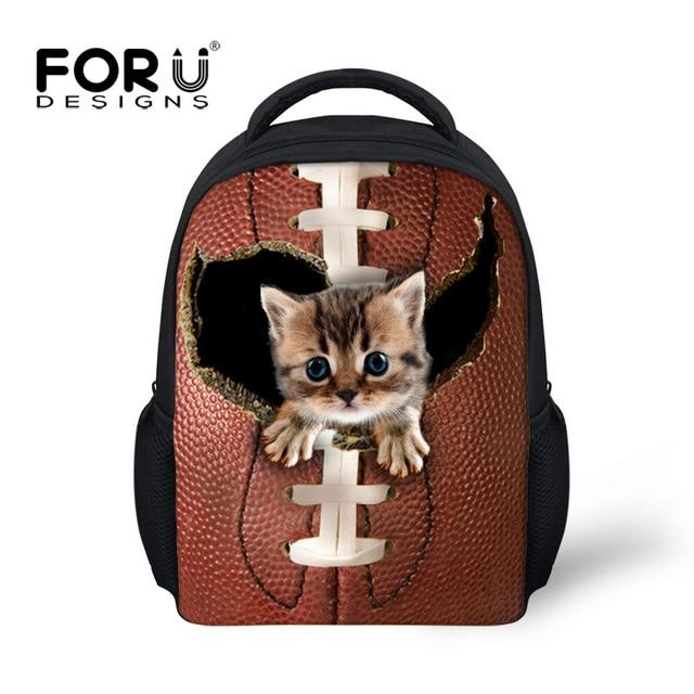 forudesigns girls school bags for children boys japanese school bag kawaii cute cat printing kids