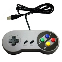 USB Controller Gaming Joystick Gamepad Controller for Nintendo SNES Game pad for Windows PC MAC Computer Control Joystick wired usb gamepad joystick for n64 classic game controller joypad for windows pc mac control