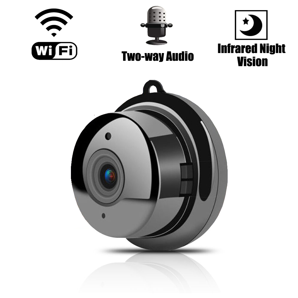Home Security HD Mini WiFi Camera Wireless Small IP CCTV Camera Infrared Night Vision Motion Detection SD Card Slot Audio APP