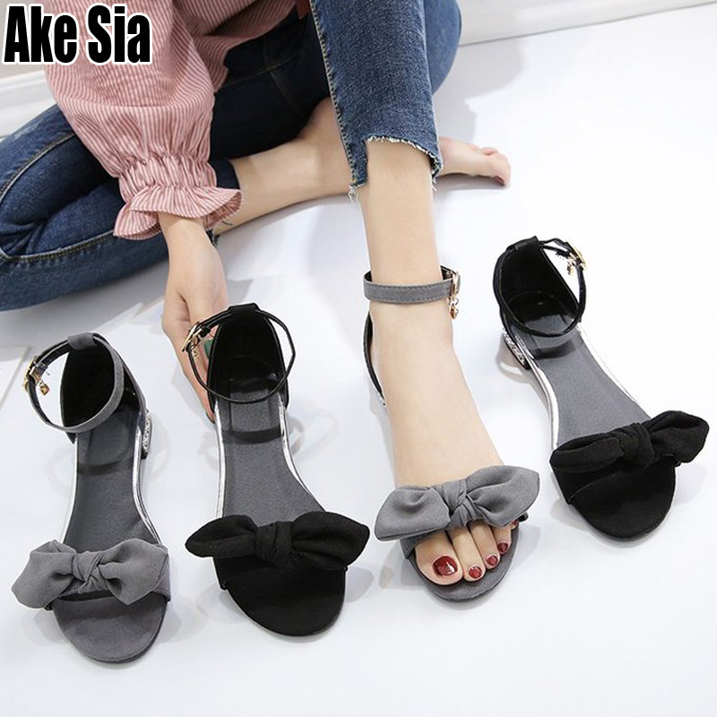 Newest Fashion Elegant Bowknot Women Lady Girls Casual Peep Toe Low Square Heels Woman Leisure Ankle Buckles Sandals Shoes A803Newest Fashion Elegant Bowknot Women Lady Girls Casual Peep Toe Low Square Heels Woman Leisure Ankle Buckles Sandals Shoes A803