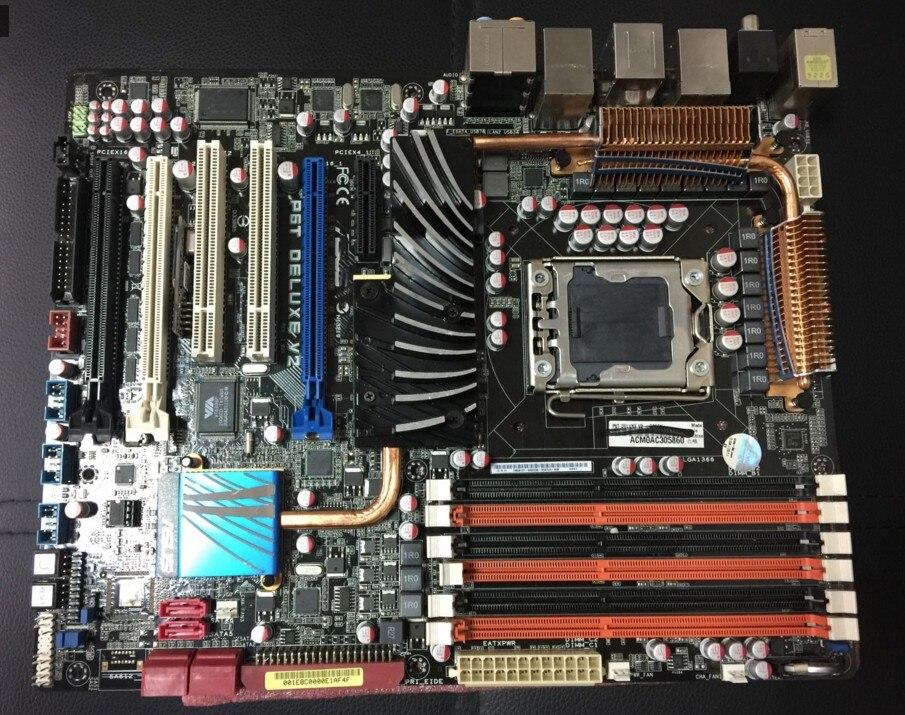 P6T Deluxe V2 Original Desktop Motherboard X58 Socket LGA 1366 DDR3 ATX 85%-95%new