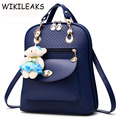 2016 New Wave Of Female Backpack Spring And Summer Student Fashion Designer Backpack 7 Colors School Bags For Teenagers DB068