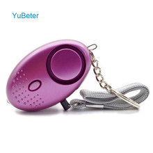 Self Defense Alarm 120dB Security Protect Alert Scream Loud Emergency Alarm Keychain Personal Safety For Women Child Elder Girl