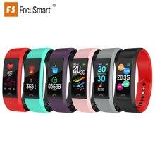 FocusSmart F6 Women Smart Bracelet Blood Pressure Heart Rate Wristbands Fitness Tracker IP67 Waterproof Women Wristbands
