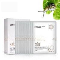 Best Skin Care 1Set 10 Pcs Snail Moisturizing Face Mask Skin Care Moisture Mask Cosmetics