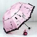 Женский зонт с узором  модный  с арочным узором  для принцессы  для дождя  2019