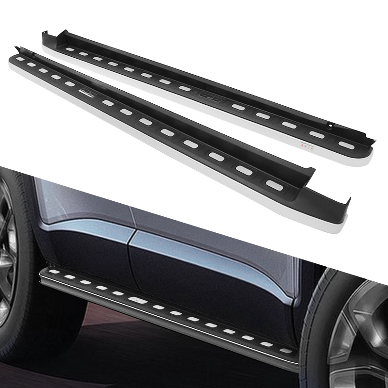 Door Sill Trim  Side Nerf Bar Plate Protector fit for JEEP Renegade 2015-2017