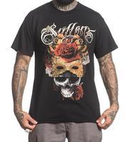 Sullen Pin Up Street Bike Gothic Americana Tattoo Art 2018 New Pure Cotton Short Sleeves Hip Hop Fashion Mens T Shirt
