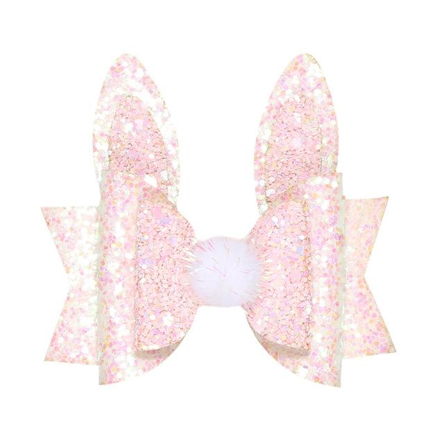 Pretty Bunny Rabbit Hair Bow