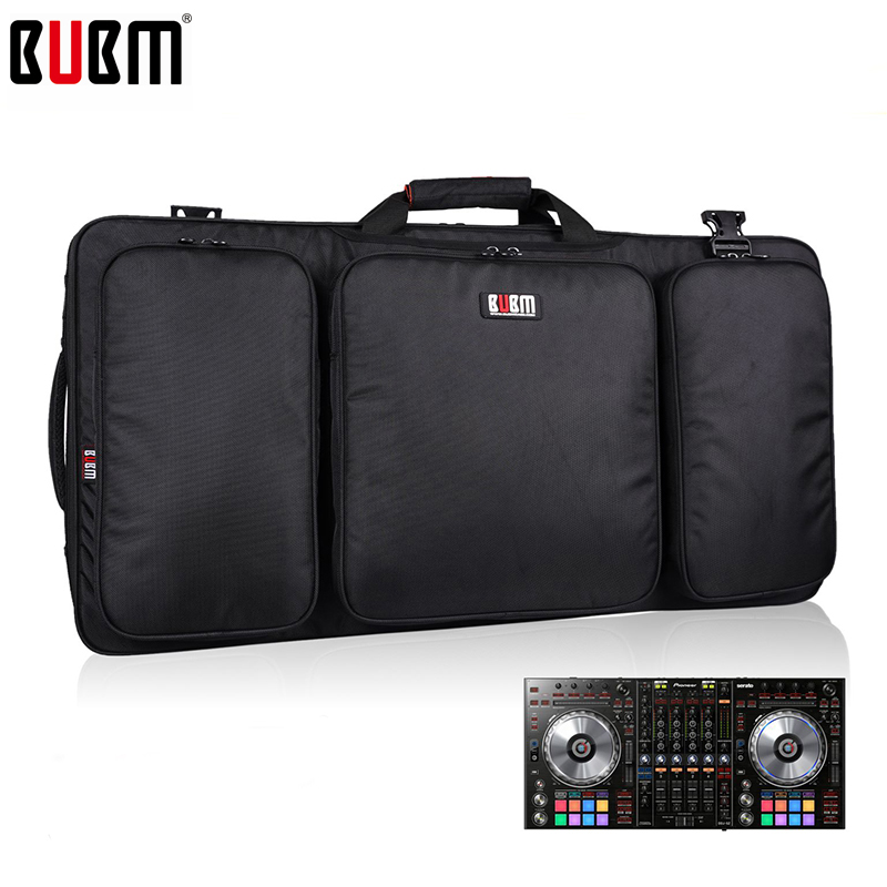 BUBM portable bag for DDJ SZ controller bag/DJ Gear case storage organizer turntables devices bag bubm bag fortraktor kontrol s8 protection bag gears portable bag dj controller bag gear case bag