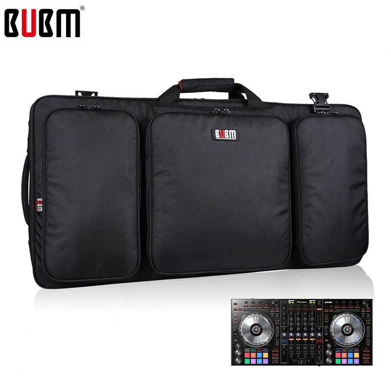 Bolsa portátil BUBM para bolsa de controlador DDJ SZ/caja de engranajes de DJ organizador de almacenamiento turntables dispositivos bolsa-in Mochilas from Maletas y bolsas    1
