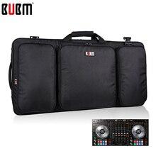 Bubm saco portátil para ddj sz controlador saco/dj caixa de engrenagem armazenamento organizador turntables dispositivos saco