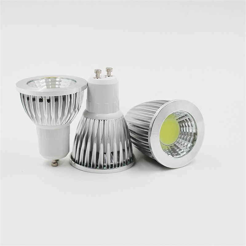GU10 GU5.3 E27 AC85-265V MR16 DC12V Светодиодный прожектор 3 Вт 5 Вт 7 Вт 9 Вт COB процесс холодный белый светодиодный светильник настенный светильник для дома для офиса и библиотеки