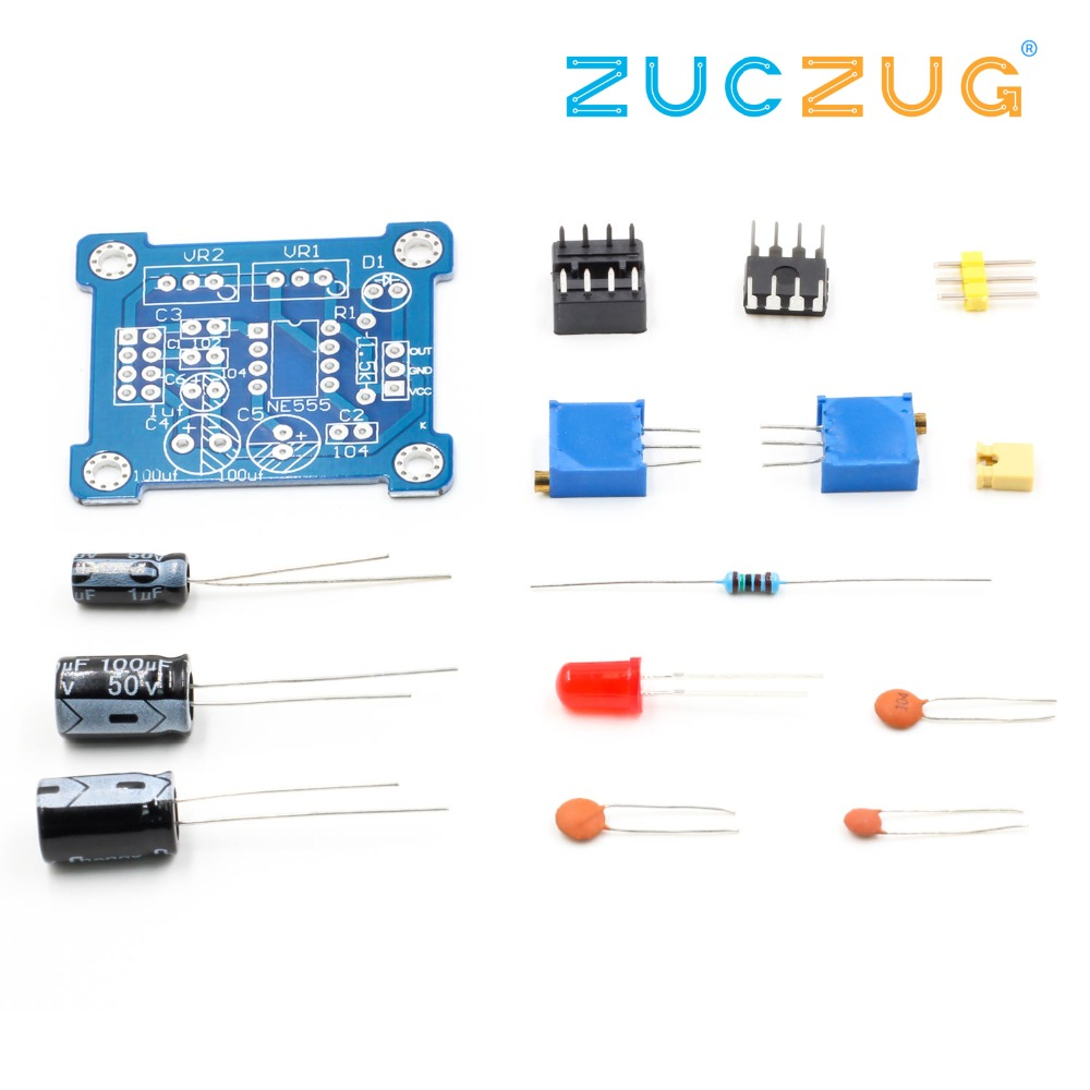 Detail Feedback Questions About Ne555 Pulse Generator Starter Square Wave Oscillator Circuit Duty Cycle And Frequency Adjustable Module Diy Kit Signal
