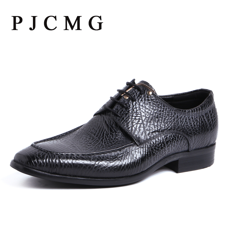 New High Quality Handmade Breathable Spring/Autumn Black/Blue Pointed Toe Flats Genuine Leather Oxfords Business Men Shoes new spring autumn women shoes pointed toe high quality brand fashion ol dress womens flats ladies shoes black blue pink gray