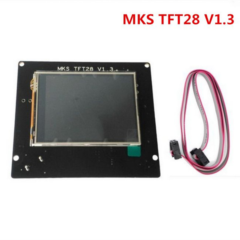 2.8MKS TFT28 V1.3 touch screen smart controller Support U disk and SD card for 3D printer