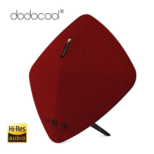 Dodocool altavoz portátil estéreo inalámbrico altavoz con micrófono incorporado de alta resolución música Altavoz Bluetooth apoyo TF tarjeta USB disco 32 GB