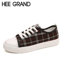 HEE GRAND 2018 New Canvas Shoes Women Casual Shoes