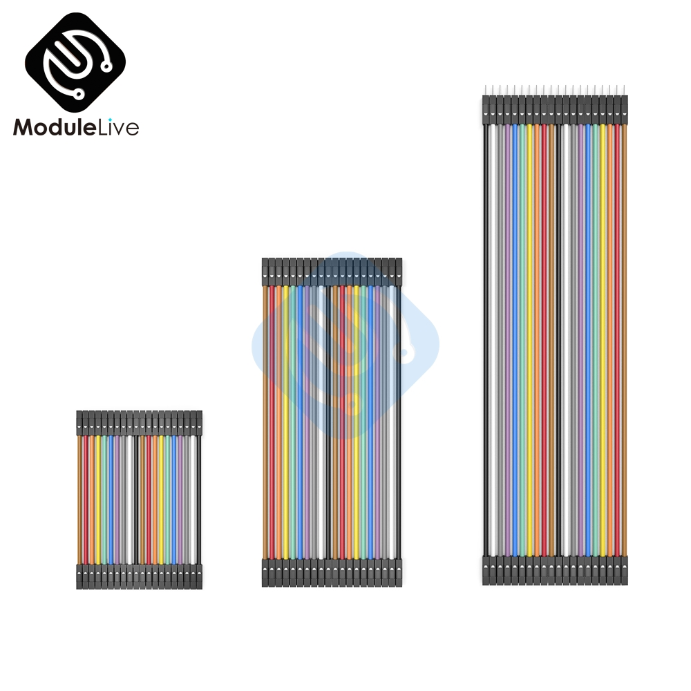 40PCS Dupont Line 10cm/20cm/30cm  Male To Male Female To Female Male To Female  Dupont Cable Jumper Wire For Arduino Diy 2.54mm