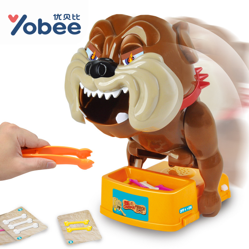Yobee Novelty Dog Prank Toy Dentist Bite Finger Interactive Family Challenge Board Game Tricky Toy for Kids Boys Girls fast free ship for gameduino for arduino game vga game development board fpga with serial port verilog code
