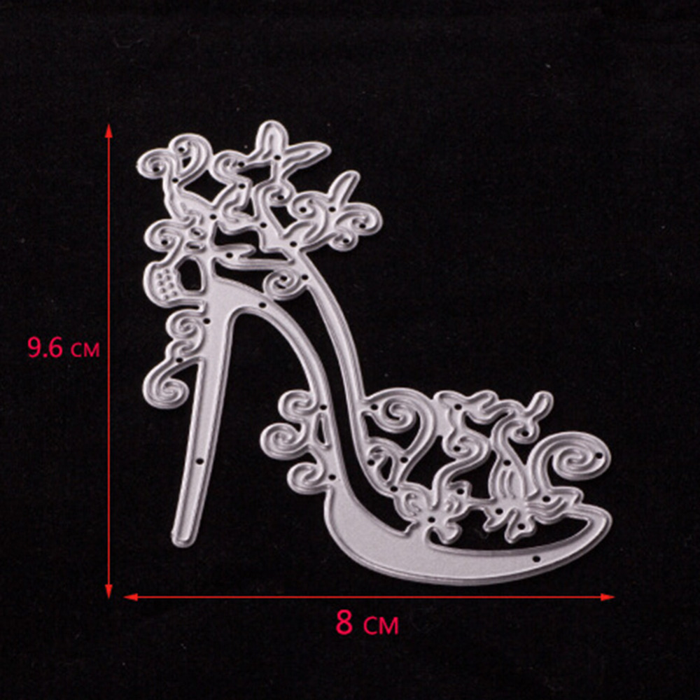 High Heels 96*80MM Carbon Steel Cookie Cutting Die DIY Scrapbooking ...