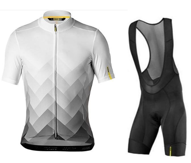 MAVIC 2018 Cycling Sets MTB Shirts Breathable Bike Clothing Kits Quick Dry Sport Tops Cycling Jerseys