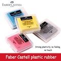 4 pces faber-castell borracha macia kneadable sketch plasticidade limpar destaque de borracha amassada para arte pianting design plasticina