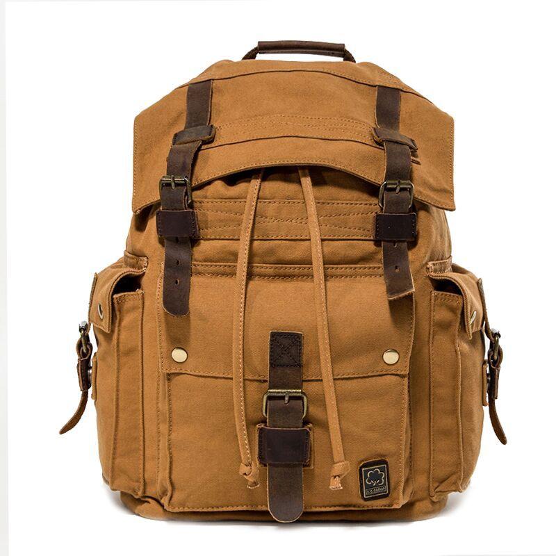 Amasie Для мужчин с дорожные сумки большой Ёмкость нейлоновый рюкзак Портативный ежедневно рюкзак Bolsa многофункциональная камера мешок GET0008