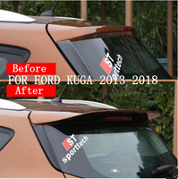 JIOYNG ABS PAINT CRA REAR WING TRUNK LIP SPOILERS FIT FOR FORD KUGA 2013 2014 2015 2016 2017 2018