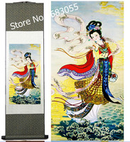 Adornment beauty diagram silk/hang a picture/decorative painting scroll painting wholesale AT009