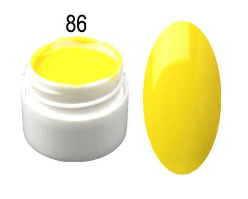 ホテ販売 15 色! 5 ミリリットルあたり鍋純色ネイルアート Uv ジェルマニキュア Padicure DIY # A66
