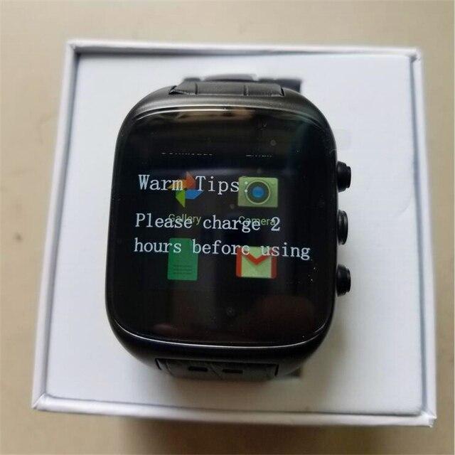 X01S Smart watch Android 5.1 1.54 дюймов MTK6572 1.3 ГГц Dual Core 1 ГБ RAM 8 ГБ ROM Водонепроницаемый GPS Датчик Силы Тяжести Шагомер ПК № 1
