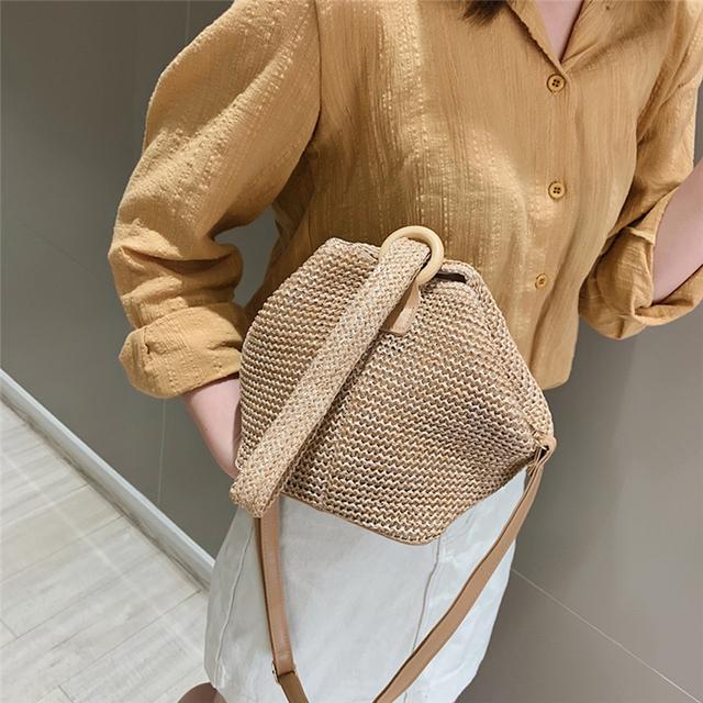 Straw Retro Handbag/Tote